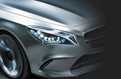 Mercedes garage