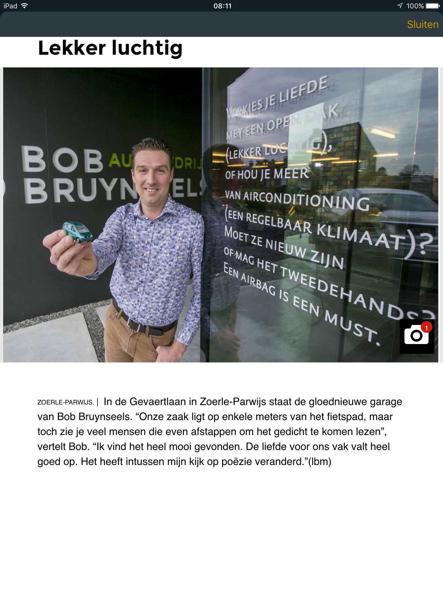 Westerliefs Autobedrijf Bob Bruynseels